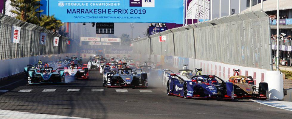 Marrákeš ePrix 2018/19 Formule E