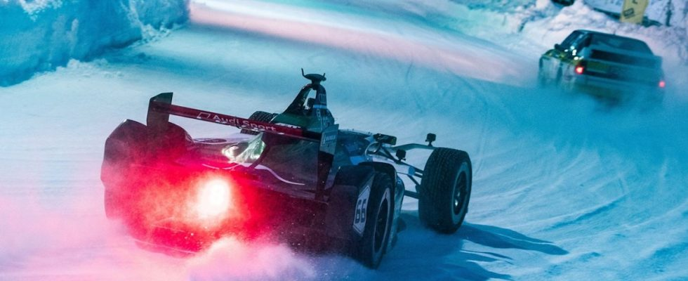 GP Ice Race 2019, Zell am See, formule E, Daniel Abt