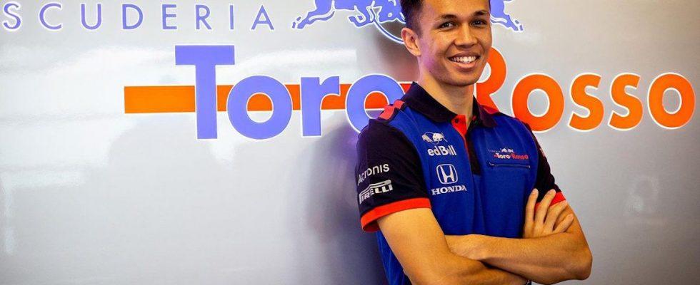 Alex Albon, Toro Rosso, F1, Formule E