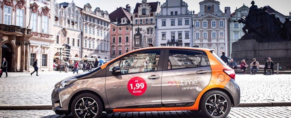 Anytime, carsharing, Praha, česko, Sdílená doprava