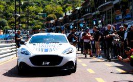 Aston Martin, Rapide E, Monako ePrix