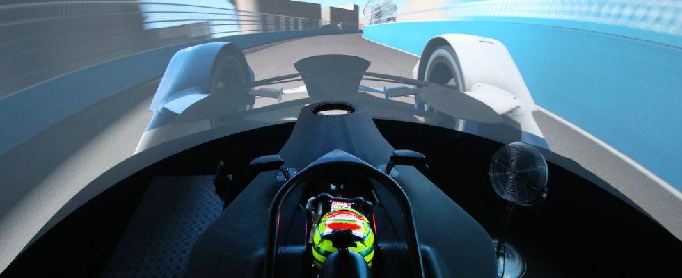 BMW simulátor, virtuální realita