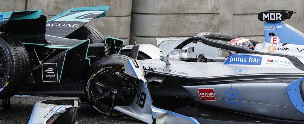 Formule E, Paříž ePrix, bouračky, Monaku