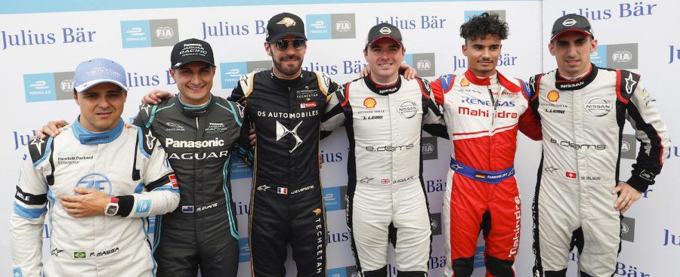 Formule E, piloti