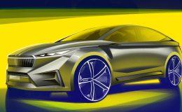 Škoda Vision iV, elektromobil Škoda, škoda