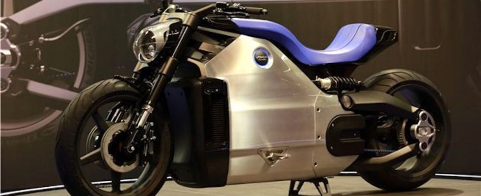 Voxan-WATTMAN, Venturi, Max Biaggi, elektrický motocykl