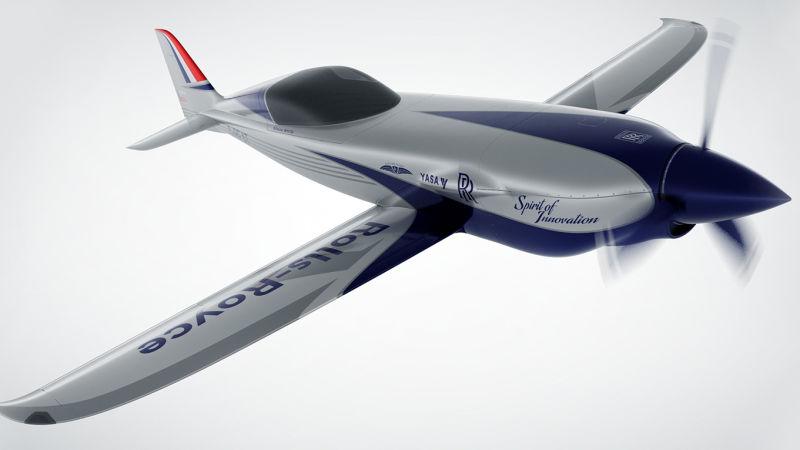 Elektrické letadlo z dílny Rolls Royce | Zdroj: Rolls Royce